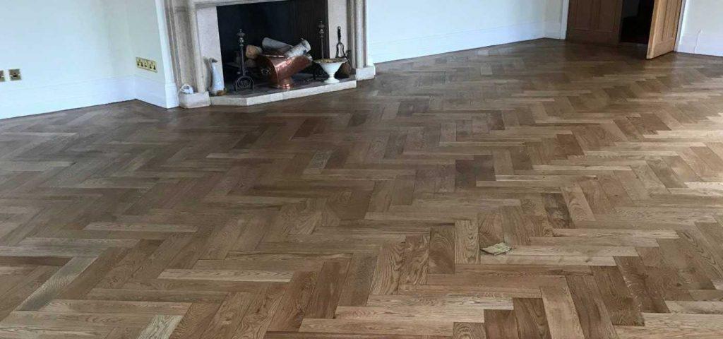 Hardwood flooring repair